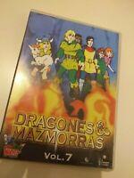 Dvd  dragones y mazmorras vol 7 /3 capitulos