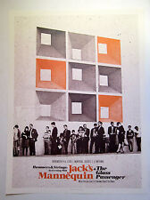 Jack's Mannequin *Montreal Le National NOV 2008* Tour Poster Andrew McMahon RARE