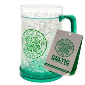 Celtic FC Freezer Mug Tankard Beer Glass Birthday Christmas Father's Day Gift