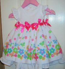 BABY GIRL SUMMER DRESS AGE 0-3 MONTHS USED BUT IN MINT CONDITION.