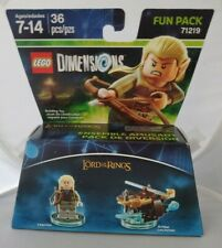 NEW Lego dimensions fun pack 71219 Lord of the Rings LEGOLAS and ARROW LAUNCHER