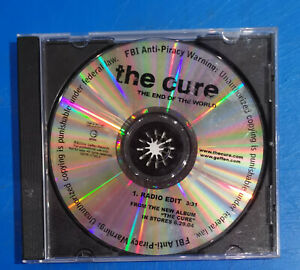 The Cure : the end of the world - cd single Promo US - 1 track