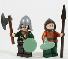 LEGO LOTR ROHAN SOLDIER MINIFIGURE PACK HELMS DEEP - MADE OF GENUINE LEGO PARTS