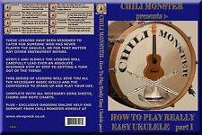 How To Play Really Easy Ukulele by Chili Monster DOWNLOAD ONLY