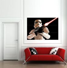 Star Wars Storm Trooper Sci Fi Giant Wall Art New Poster Print Picture
