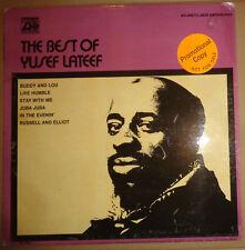 THE BEST OF YUSEF LATEEF - LP - WHITE LABEL PROMO - ATLANTIC, 1971. SD 1591
