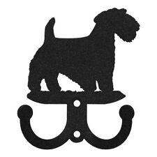 Swen Products Sealyham Terrier Metal 2 Hook Key Chain Holder Hanger
