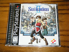 Suikoden II 2 PS1 PSX (Sony PlayStation 1, 1999) Complete