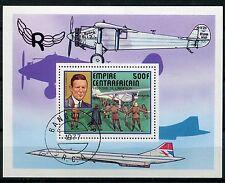BLOC TIMBRE **    AVIATION  CONCORDE  EMPIRE CENTRAFRICAIN  1977