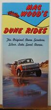 1960's 70's Mac Wood's Silver Lake Sand Dunes rides Michigan travel brochure b