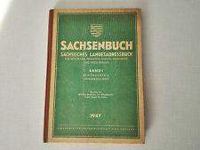 Sachsenbuch-Landes Adressbusch Sachsen 1947 für Behörden, Industrie, Handel....