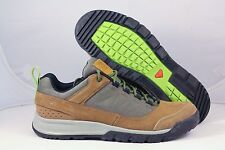 Salomon Mens Instinct Travel Casual Hiking Shoe CamelLTR/Swamp/GreenGlow Size 9