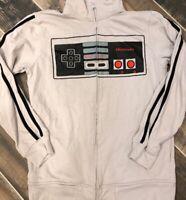 VTG Nintendo Full Zip Sweatshirt Mens Track Jacket Retro Rare Controller M/L
