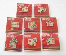 Tokyo Olympic Coca Cola Pin Badge Set 2020 Judo table tennis Volleyball