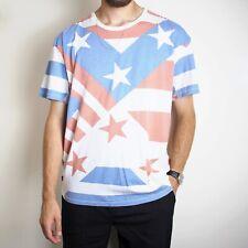 Vintage Levi's Stars & Stripes T-Shirt Mens XL USA Red White And Blue