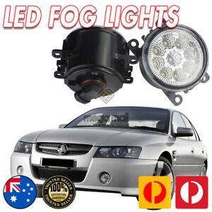 LED FOG LIGHTS SUIT VZ COMMODORE HOLDEN 04-06 SS SV6 LAMP SPOT DRIVING FOGLAMP