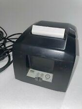 Star Micronics Tsp654 Thermal Printer 39481270 Charcoal Used
