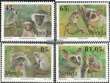 Venda 270-273 (kompl.Ausg.) postfrisch 1994 Affen