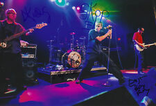 Dead Kennedys (full signed!) signed 8x12 inch photo autographs