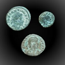 Lot of 3 Mixed Roman Bronze Coins (#488)