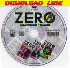 ZERO MAGAZINE Full Collection (PDF DOWNLOAD) PC/Amiga/Atari ST/Nintendo Games