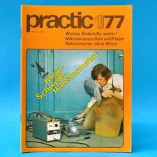 DDR practic 1/1977 Spielplätze Klebstoffe Gartenmöbel Folienzelt Mikroskop L