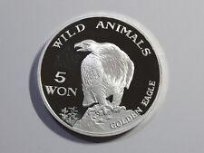 Korea 2003, Wild Animals-Golden Eagle 5 Won, 35mm, 20g Silver Proof