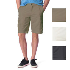 a3f4b23488 Men's Chaps Classic-Fit Washed Cotton Textured Cargo Shorts Size 32-38 $60
