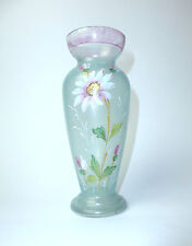 Bohemian glass vase for 1920 b-112 Enamel Colors