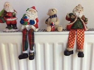 Christmas decorations,Christmas ornaments x 4