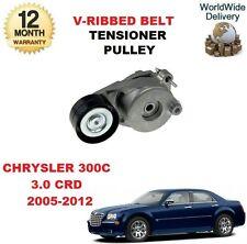 FOR CHRYSLER 300 C 3.0 CRD 2005-2012 V RIBBED BELT TENSIONER PULLEY DRIVE BELT
