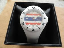 New Red White and Blue Toy Brand Men's Watch - Water Resistant - Shows the Date