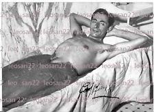 CICLISMO: foto vintage di FAUSTO COPPI alle Terme di Acqui,con autografo, 1957