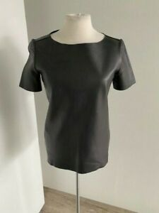 Yves Saint Laurent leather top new with tag french size 36