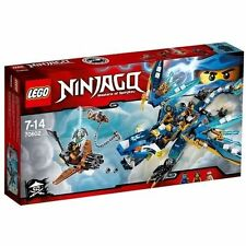 Lego Ninjago 70602 Masters of Spinjitzu Jay's Elemental Dragon