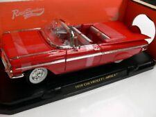 1/18 Yat Ming Chevrolet Impala 1959 rot