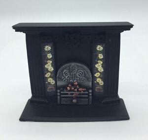 Dolls House Resin Fireplace