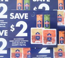 (10) Save $2.00 Schneiders Deli Meats (Canada Only)