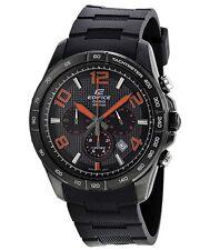 Casio Edifice Watch * EFR516PB-1A4 Orange & Black Steel Case & Resin COD PayPal