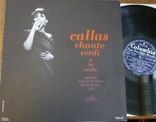 MARIA CALLAS sings VERDI   / COLUMBIA FCX 816