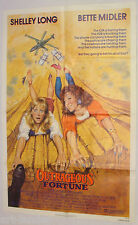 OUTRAGEOUS FORTUNE Shelly Long Bette Midler Original 1987 Movie Poster 27x41