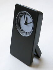 15 X Black Battery Desk Clock With Alarm Second Hand