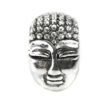 De Buman Sterling Silver Buddha Charm Bead