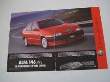 advertising Pubblicità 1996 ALFA ROMEO 146 TI