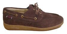 Sebago Jobson Docksides Brown Suede Boat Deck Shoes UK Size 7 EU 41