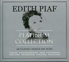 EDITH PIAF THE PLATINUM COLLECTION - 3 CD BOX SET - MILORD, LA FOULE & MORE