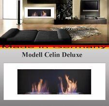 BIOETHANOL CHEMINEE MODELL CELIN BLANC ETHANOL CHAUFFAGE  FIRE PLACE hogar