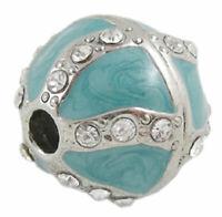 Rare Flair Jewellery Making Fancy Rhinestone Studded Beads - STYLE CHOICE