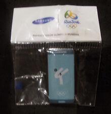 2016 Rio Brazil 31st Summer Olympic Games Samsung Taekwondo pin