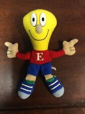 """Enron Ernie Collectible 9"""" Stuffed Animal With a Light Bulb Head Collectible"""